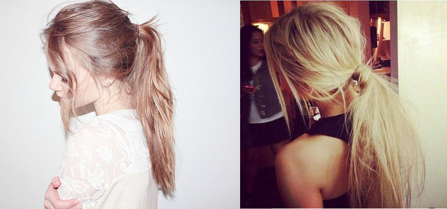 Beauty Trend To Try The Messy Ponytail Style Etcetera