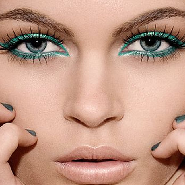 Beauty Trend To Try: Coloured Eyeliner