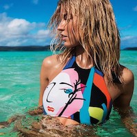 Martha Hunt For Seafolly