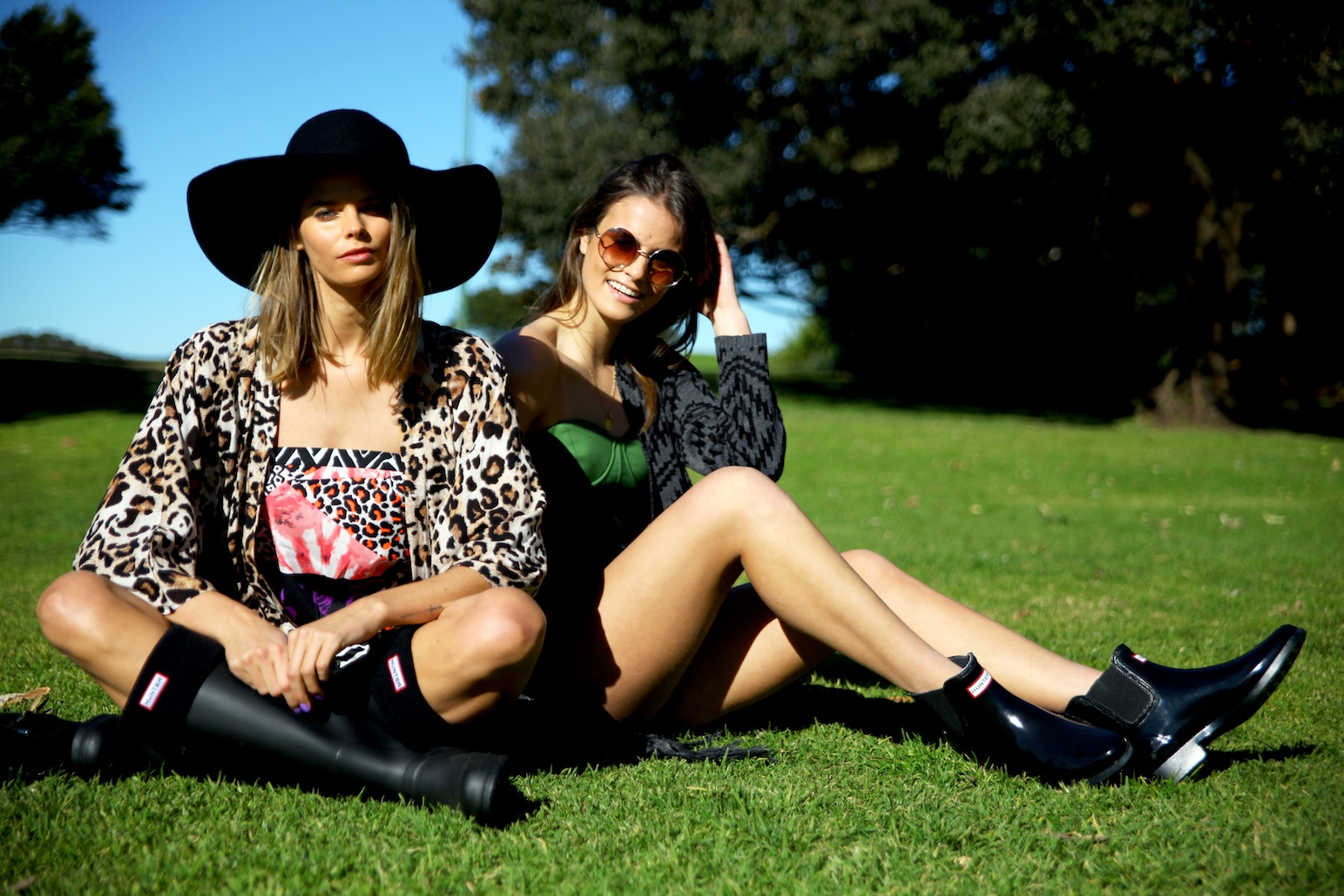 THE ICONIC, HUnter boots, THE BUNKER, Splendour In The Grass, music festival