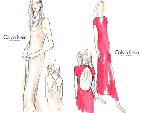 Calvin Klein Capsule Collection for Net-a-Porter