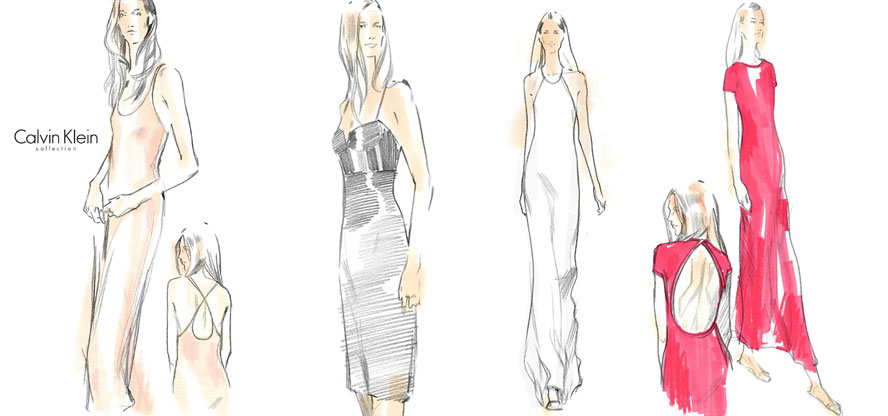 Calvin klein, Net-A-Porter, capsule collection, summer collection, limited edition