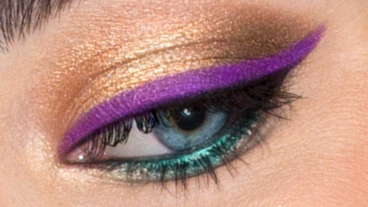 coloured eyeliner