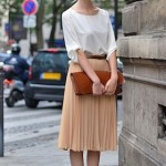 Trend Talk: Skirts and Sneakers