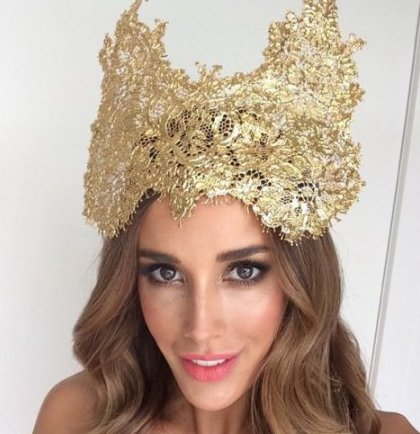 crowns, spring racing, races, fascinators, bec judd