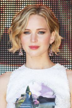 Jennifer Lawrence, hair cut, cropped bob, short crop, hair inspiration