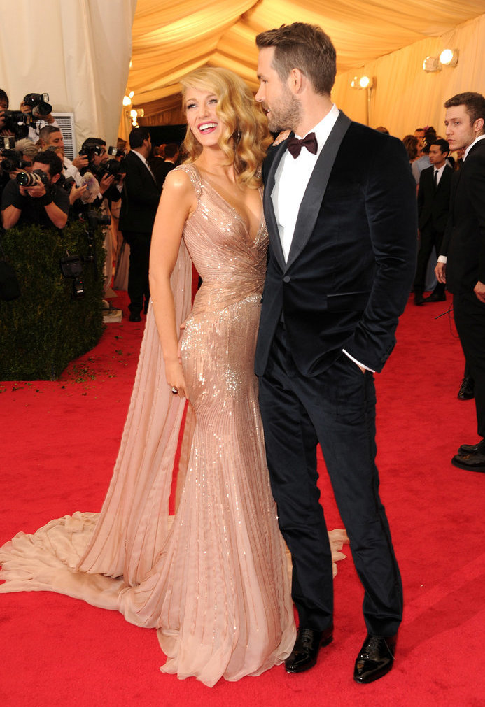 Blake Lively, Ryan Reynolds, Met Gala Ball, Red Carpet, 2014 Best Style Moments, Best Dressed