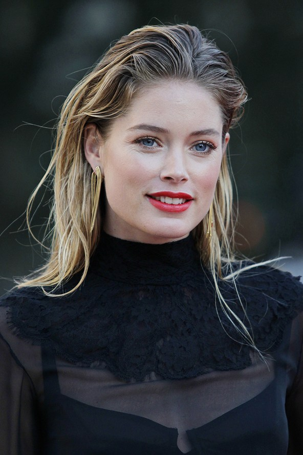 Trend Talk, Slicked Back Hair, Wet-look Hair, Doutzen Kroes, Hair Inspiration