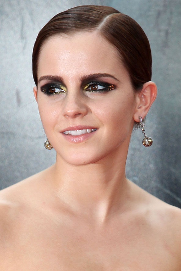 Slicked Back Hair, Trend Talk, Hair Inspiration, Wet-look hair, Emma Watson, Hair Trends