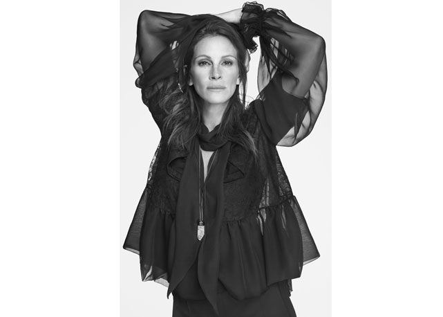 Julia Roberts, Riccardo Tisci, Givenchy, Spring/Summer 15 Campaign, Fashion Icon, Hollywood Icon