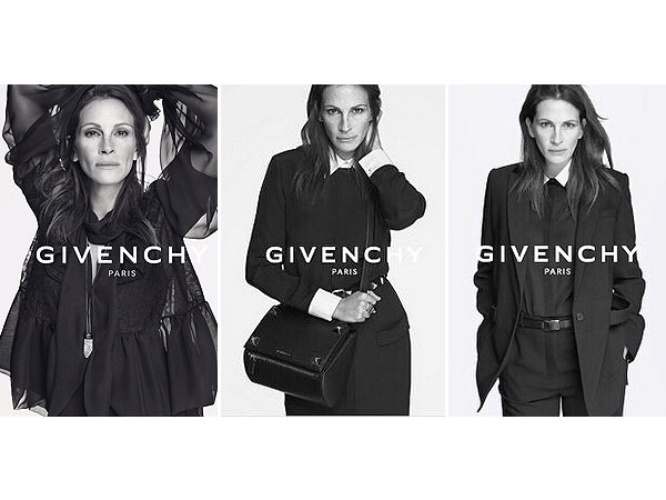 Givenchy, Julia Roberts, Riccardo Tisci, Spring/Summer 15 Campaign, Fashion Icon, Hollywood Icon
