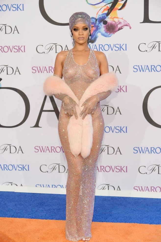 Rihanna, Best Style Moments 2014, CFDA Awards, Red Carpet, Best Dressed 2014,
