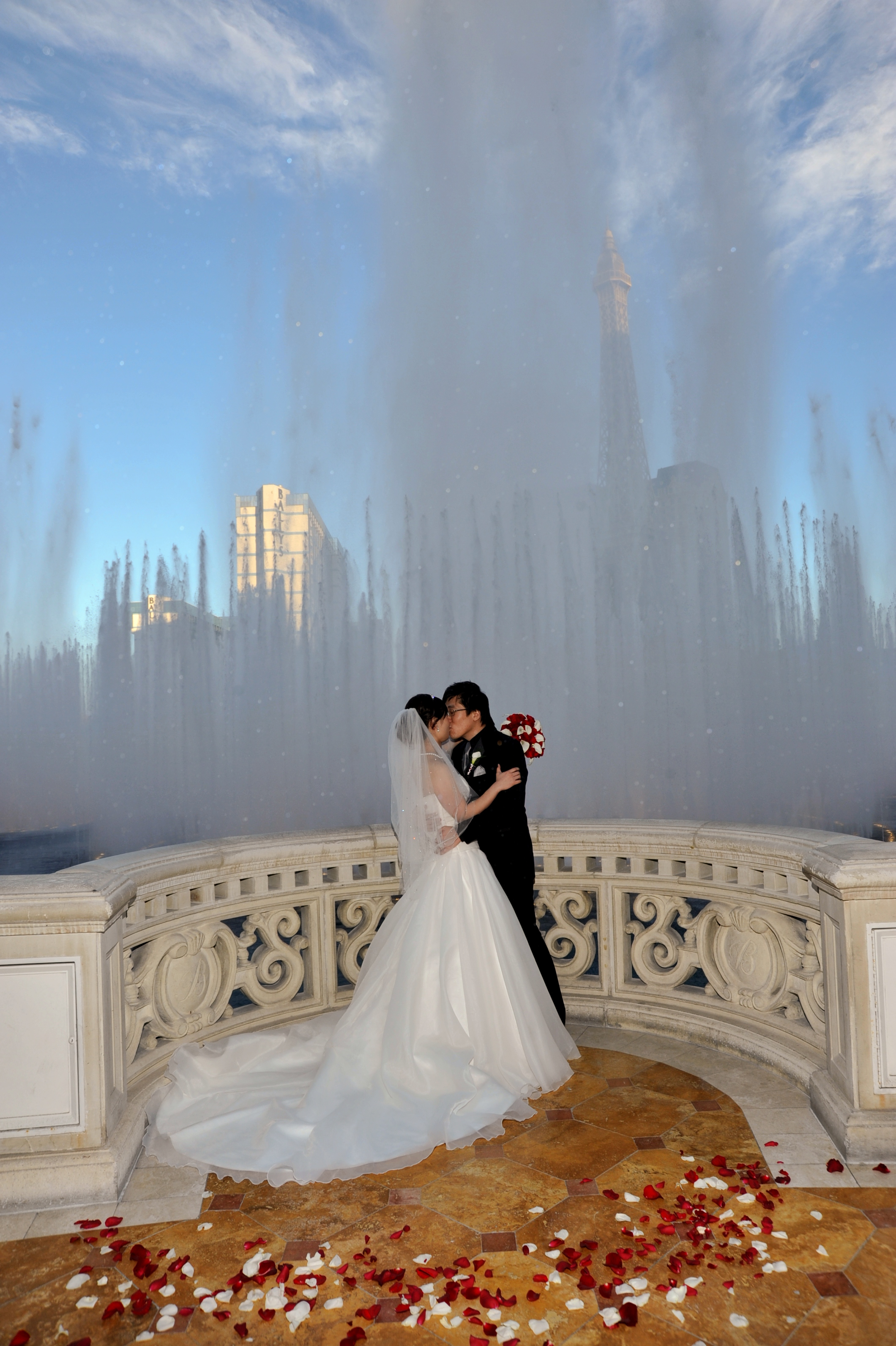 top 10 places to get hitched in las vegas style etcetera With las vegas wedding bellagio