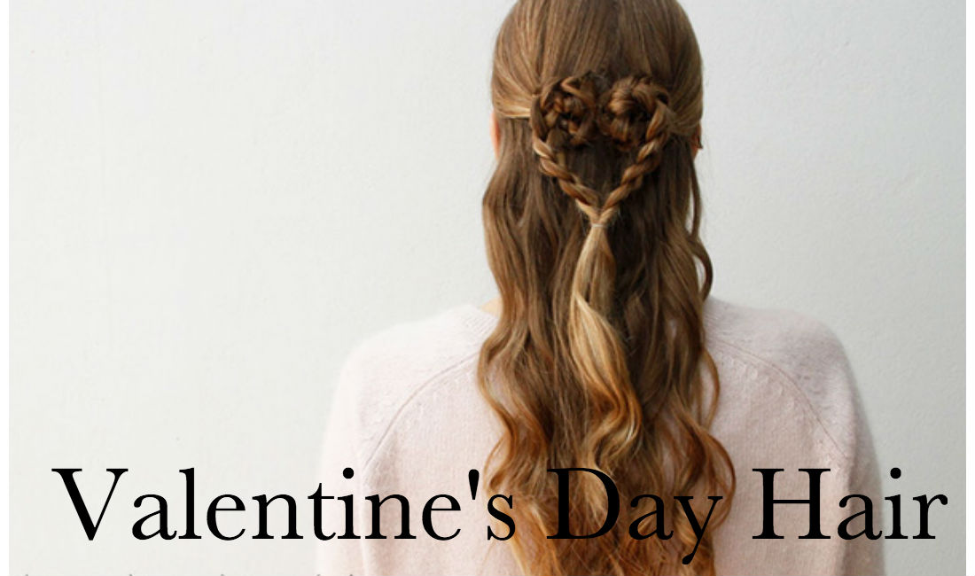 Romantic Hairstyles For Valentineu0027s Day