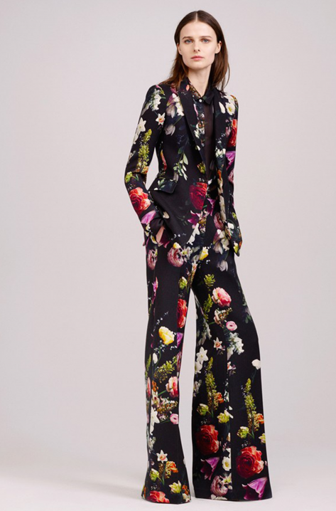 head to toe florals, dolce & gabbana, aw15, trend