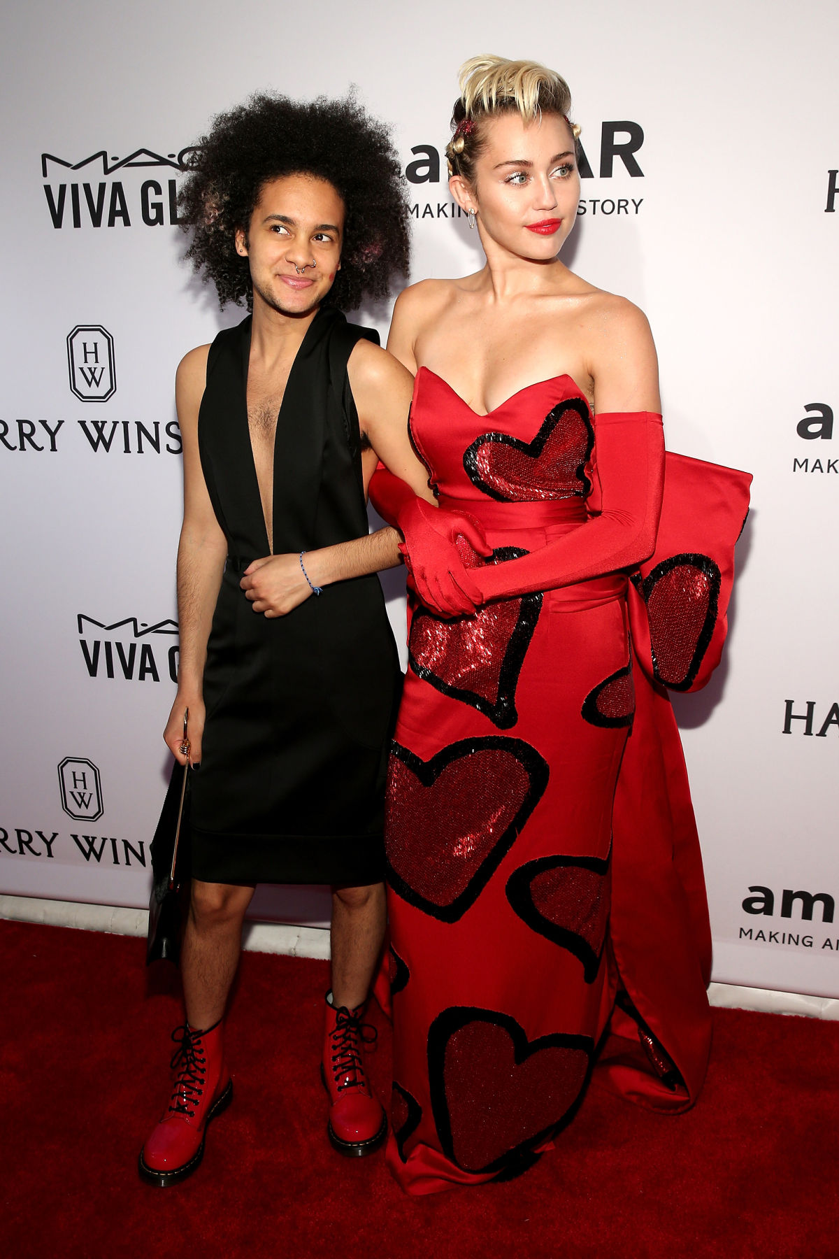 amfar inspiration gala red carpet