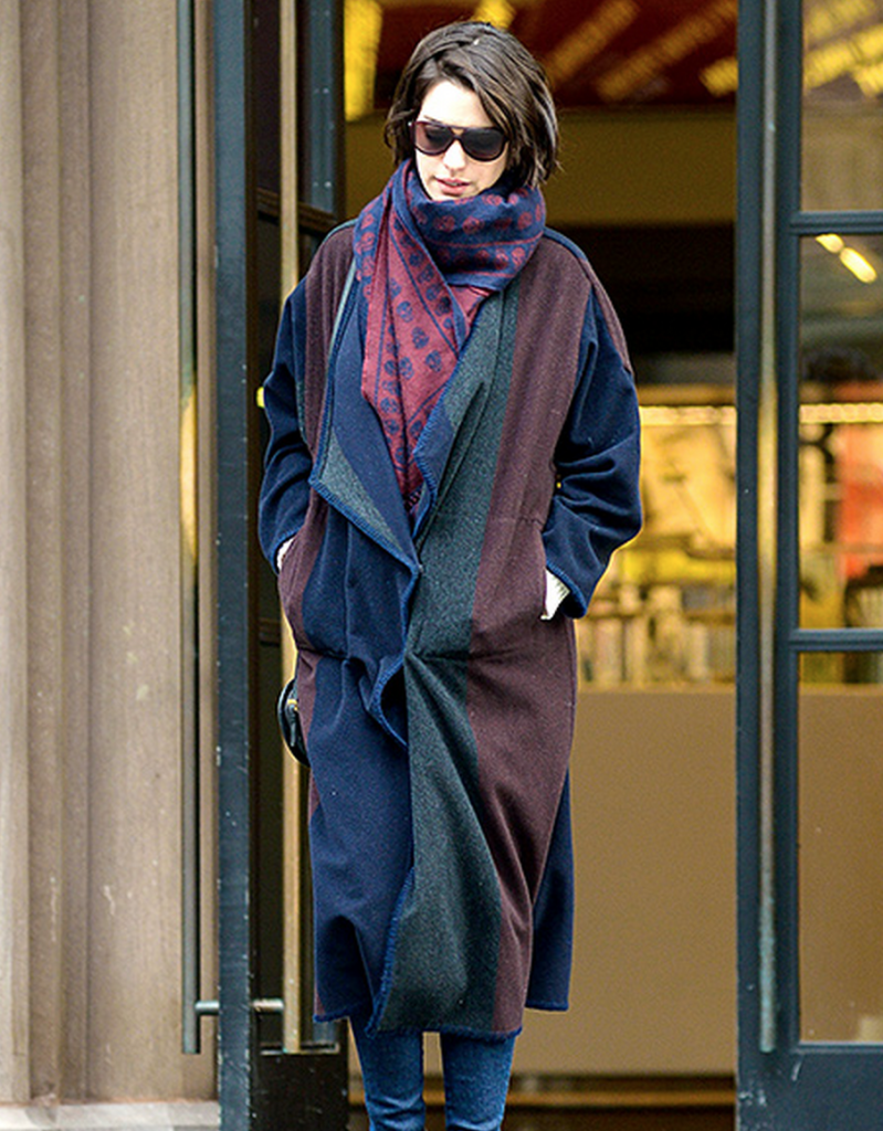 the oversized trend