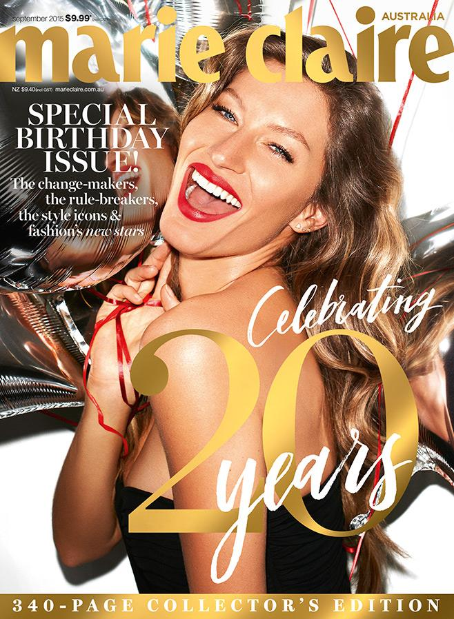 Marie Claire Celebrates Turning 20