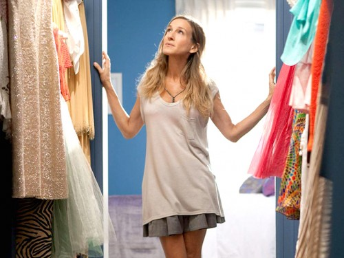 spring clean, wardrobe, clean out, carrie bradshaw