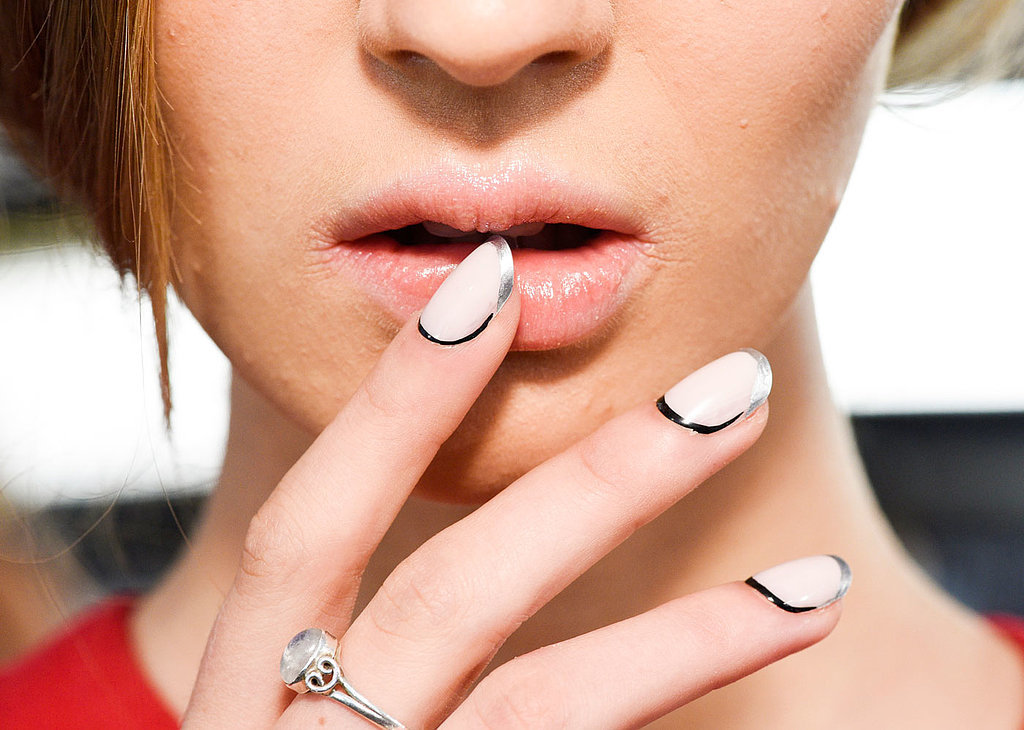 new york fashion week, beauty trends, nail trends, nail art, nail looks