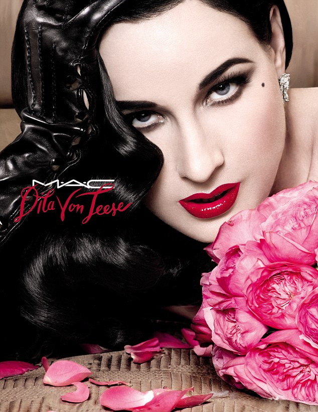 dita von teese for mac