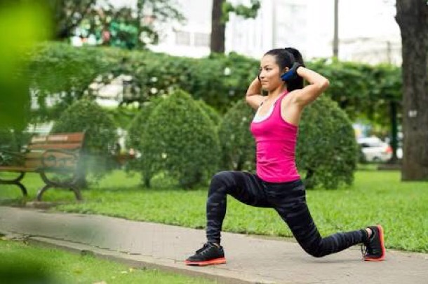 walking lunges, exercise, cardio