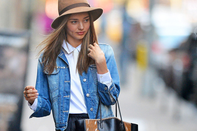 How To Style A Denim Jacket - style etcetera