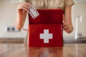 Holiday packing, travel, first aid