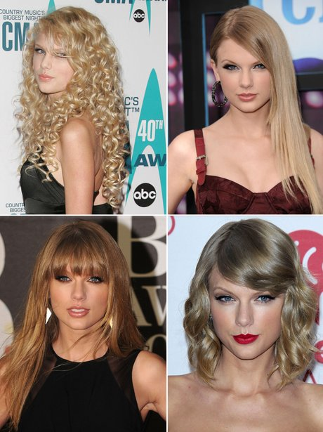 The Hair Transformation Of Taylor Swift Style Etcetera