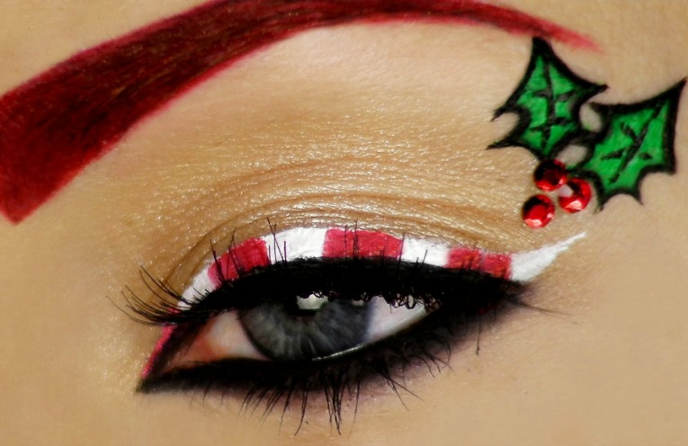 3 Christmas Makeup Looks , style etcetera