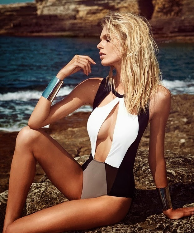 6 One-Piece Swimsuits That Aren't So Basic