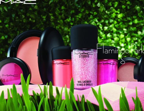 mac flamingo park collection, MAC, pink, flamingo park, cosmetics, makeup