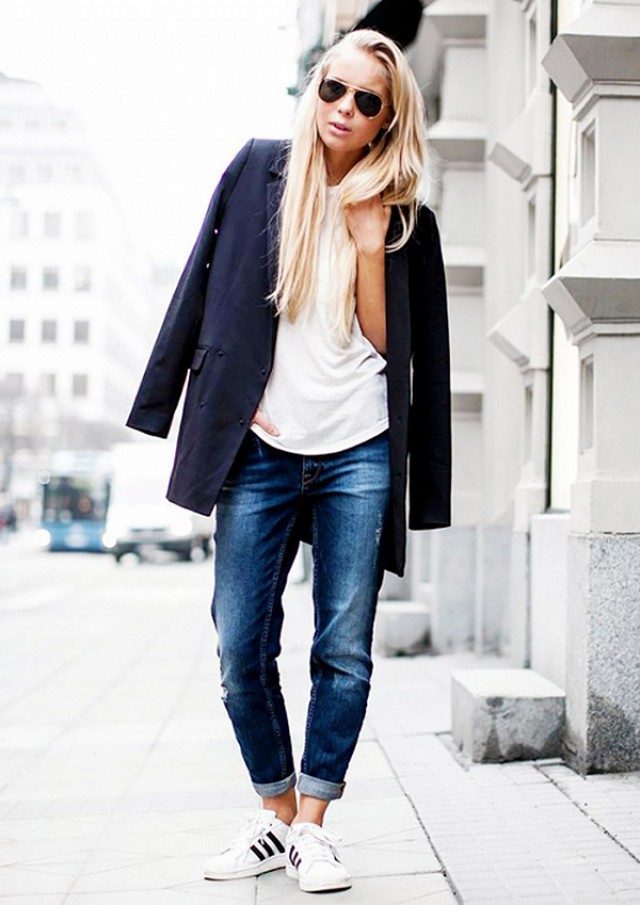 How to style boyfriend jeans, boyfriend jeans, style, celebrity style, style inspiration