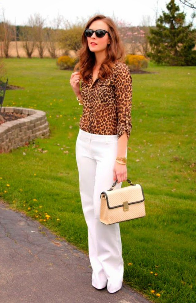 5 Ways To Wear White Pants