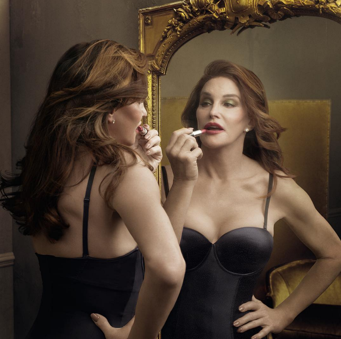 Caitlyn Jenner for MAC, finally free, lipstick