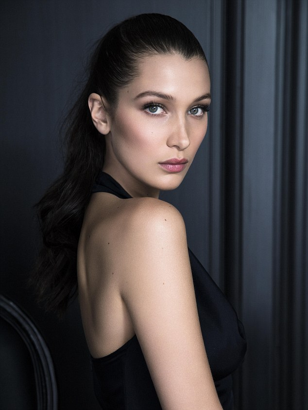 Bella Hadid for Dior Beauty