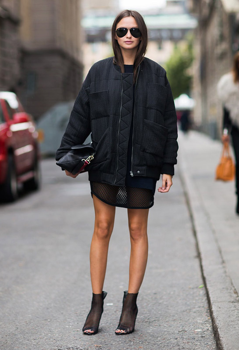 How To Style A Bomber Jacket - style etcetera