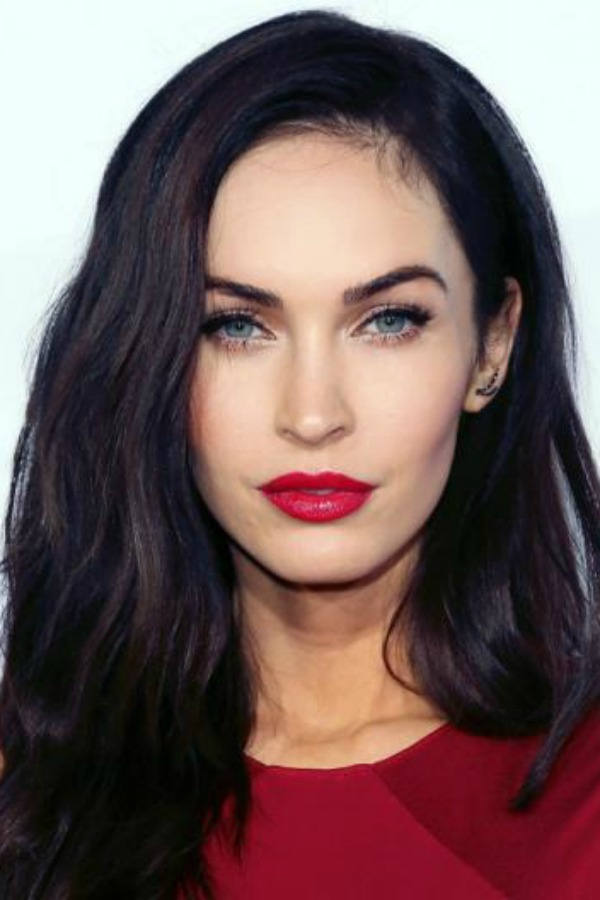 Megan Fox, actress, winter, make up