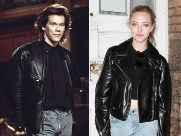 Then and Now, Fashion Flash backs, The 90's, Biker Jackets