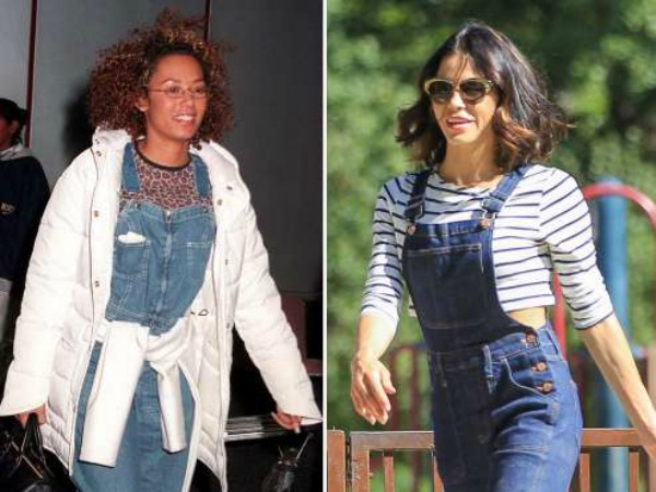 Then and Now, Fashion Flashbacks, The 90's, Overalls