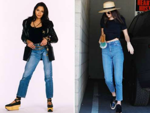 Then and now, Fashion Flashbacks, High Wasted Jeans