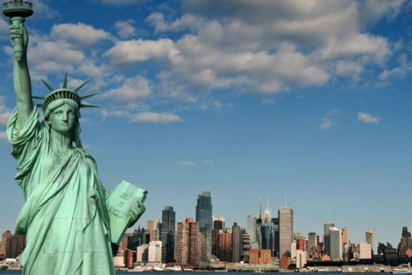 America, New York, Statue Of Liberty
