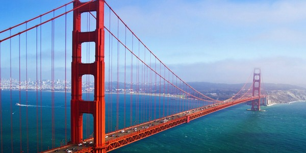 America, San Fransisco, Golden Gate Bridge