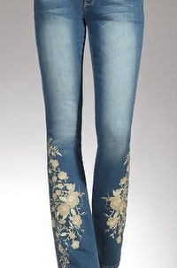 Denim, Embroidery jeans