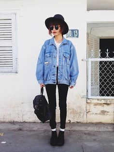 Denim, Over sized jackets