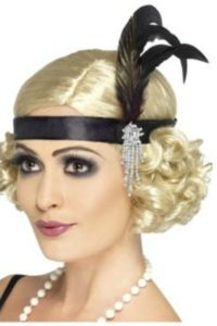 1920s, Fashion, Feathered Head Pieces