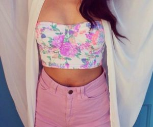 Crop Top, Strapless, Summer