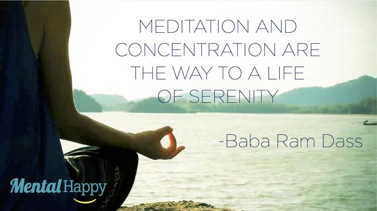 Meditate, Concentration