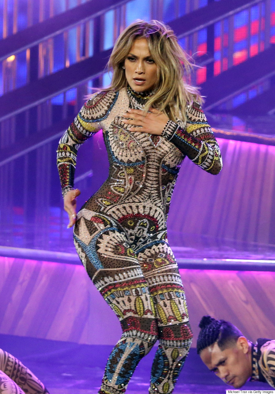 Jennifer Lopez Goes Nearly Naked for Las Vegas Residency